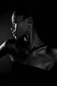 visage femme modele